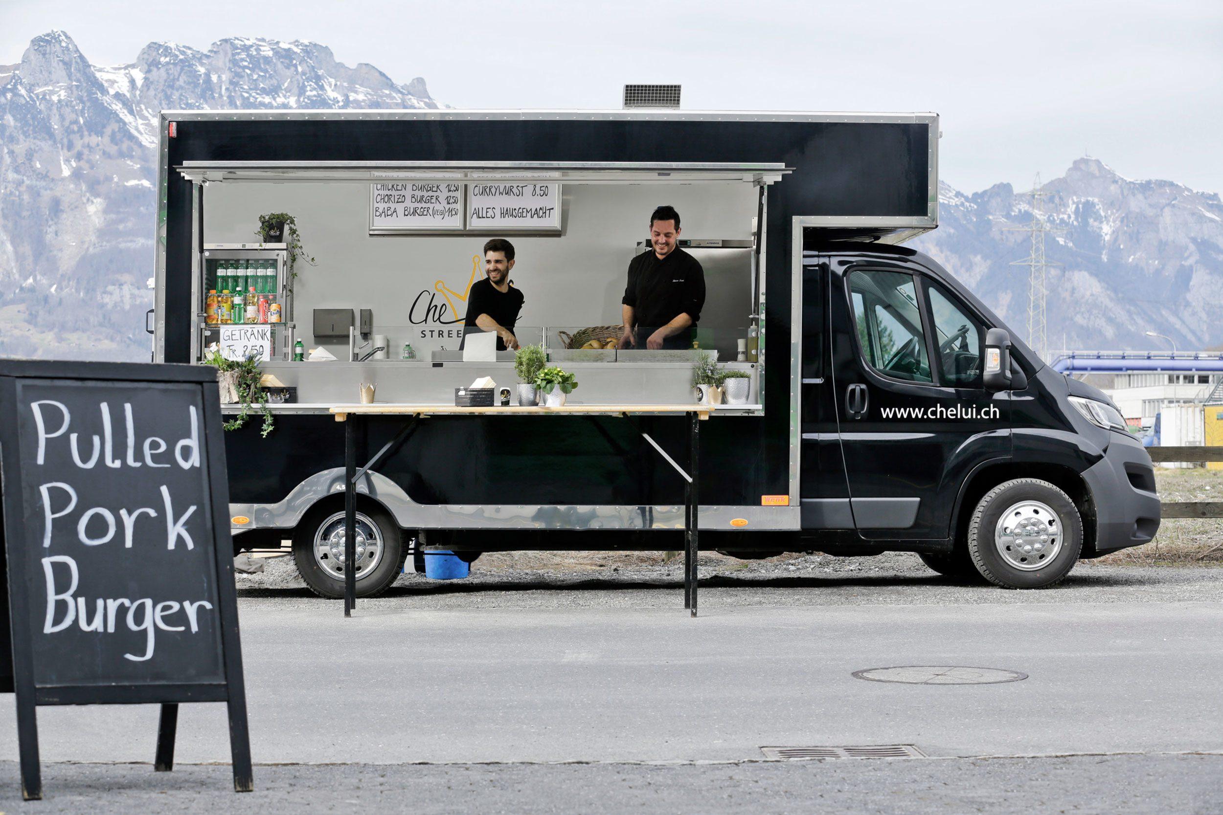 Mutzner, Foodlab, Gastronomie